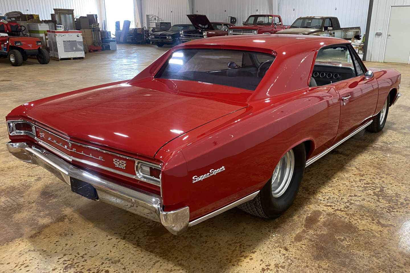 4th Image of a 1966 CHEVROLET CHEVELLE