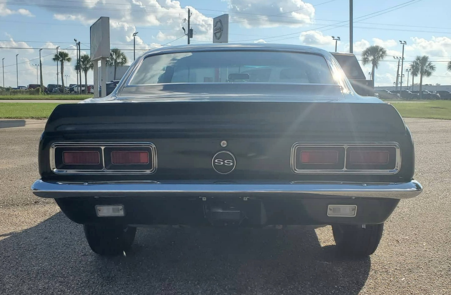 4th Image of a 1968 CHEVROLET CAMARO RS/SS