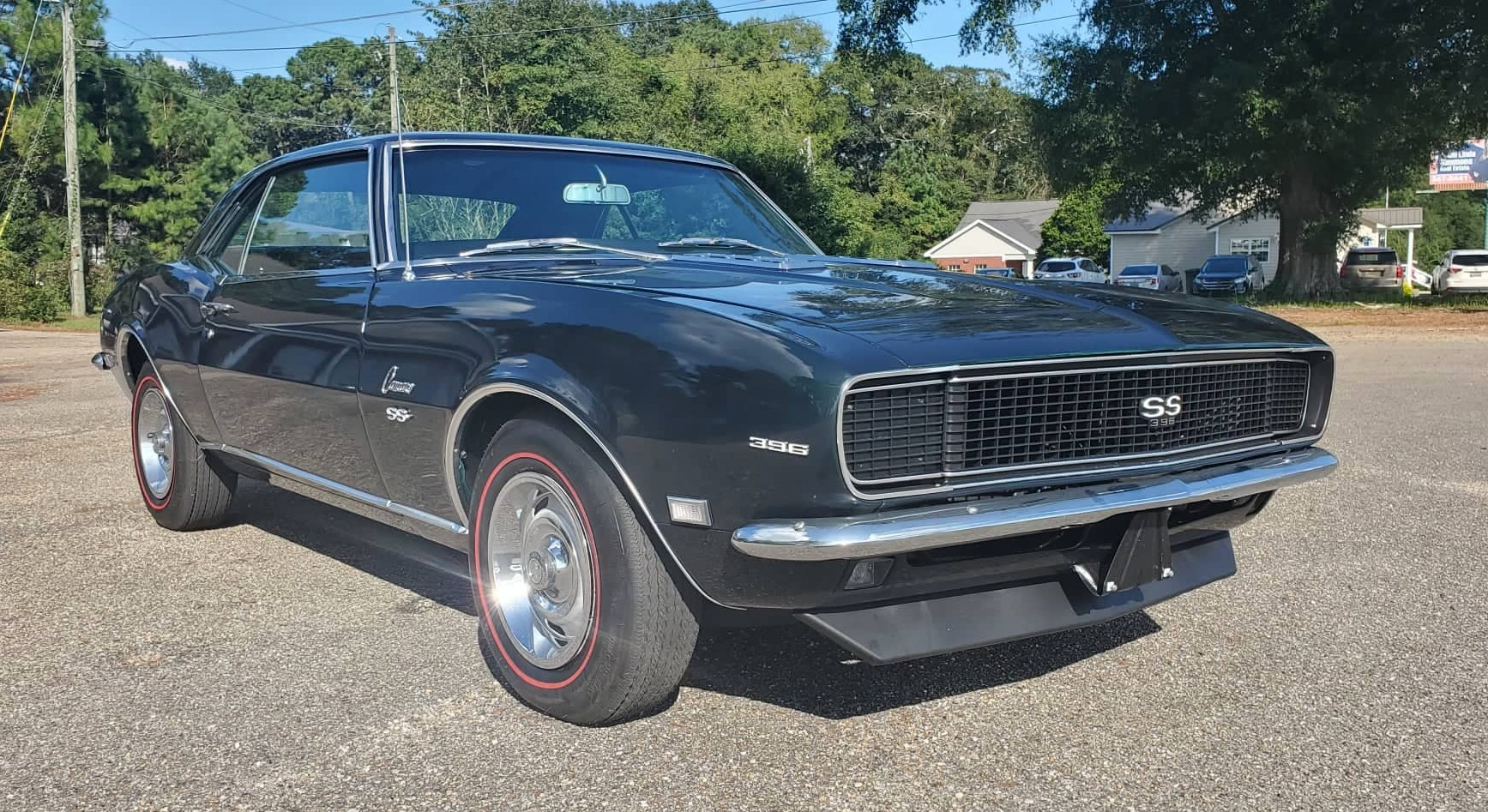 5th Image of a 1968 CHEVROLET CAMARO RS/SS