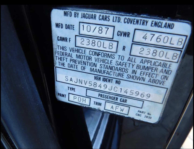 20th Image of a 1988 JAGUAR XJS
