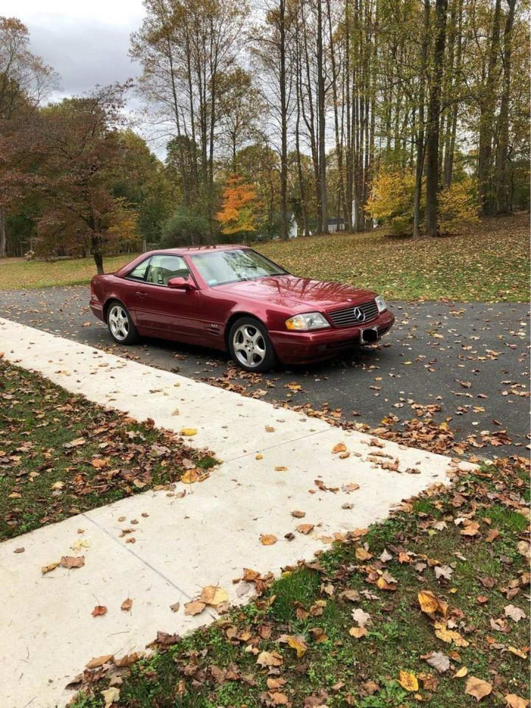 2nd Image of a 1999 MERCEDES-BENZ SL600