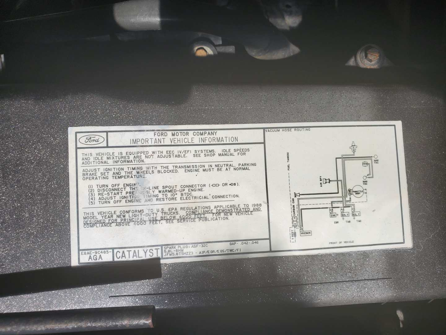 11th Image of a 1988 FORD F-150